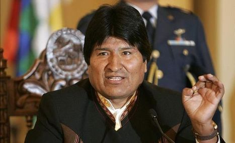 Podría el presidente Evo Morales de Bolivia, cerrar embajada de EE.UU. en su país - | Atentado a Evo Morales por España, Francia, Portugal e Italia | Scoop.it