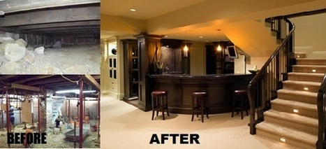 Basement Remodeling Before After Pictures - How To Use Basement Remodel Before And After Pictures | Intresting Blogs page | Scoop.it