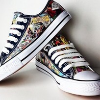 Pegstar Designs Awesome Geeky Custom Sneakers | Fortress of Solitude | Scoop.it
