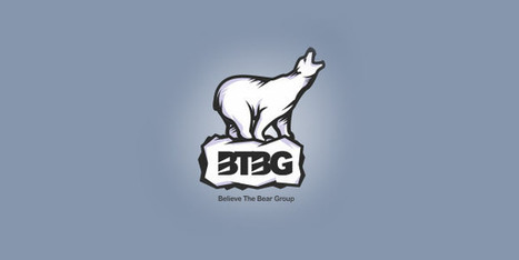 30+ Bear Logo Design Examples for Inspiration | Beautiful and creative logos | Scoop.it