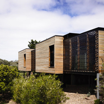 Wooden Blairgowrie House by Wolveridge Architects creates seaside home | Architecture and Architectural Jobs | Scoop.it