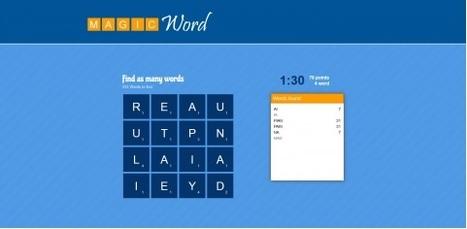 Magic Word: Premier jeu développé dans le cadre du projet Innovalangues | Innovation en langues: approches créatives et outils numériques | Scoop.it
