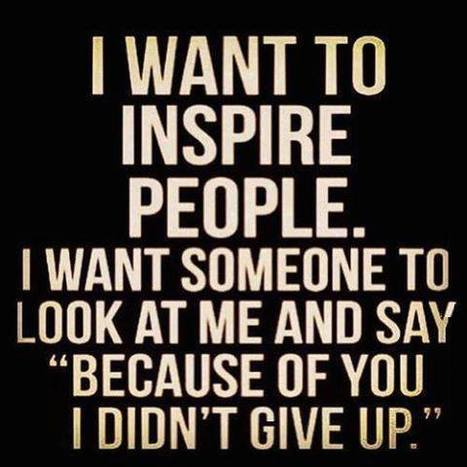 Inspire others to Achieve! | Motivation | Scoop.it