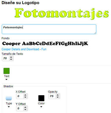 Cooltext: Crea textos animados online - Fotomontajes para Fotos - Encuentra tu Fotomontaje Favorito! | Páginas para crear fotomontajes | Scoop.it