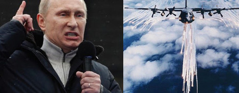 RiseEarth : Putin Accuses U.S. Of Spraying Poisonous Chemtrails Over Syria | How will you prepare for the military draft if U.S. invades Syria right away? | Scoop.it