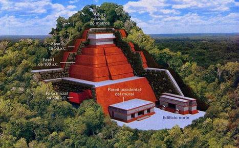 これは 熱 古代文明の  か    メキシコのジャングルで巨大ピラミッドが発 される | ニコニコニュース | 七生報國 | Scoop.it