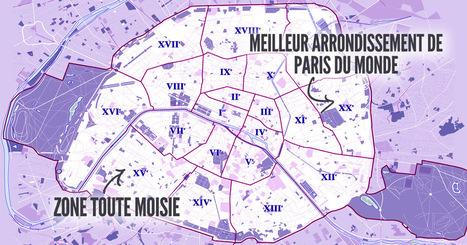 Top 20 des meilleurs arrondissements de Paris, du plus cool au plus naze | Think outside the Box | Scoop.it