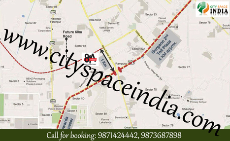 Amour 81 Avenue Retail Shops 9871424442 Gurgaon | Tapasya 70 Grandwalk Sector 70 Gurgaon new commercial Project | Scoop.it