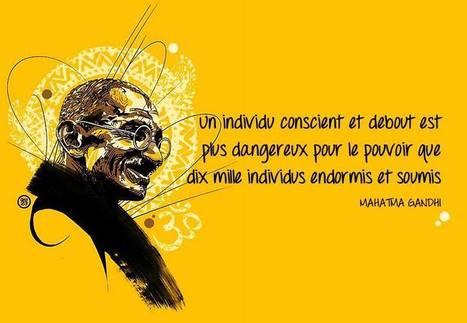 Les 23 meilleures citations de Mahatma Gandhi | Environnement et développement durable | Scoop.it