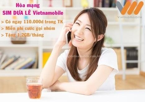 Miễn phí gọi nội nhóm với Sim Dưa Lê Vietnamobile   Trao Doi   Scoop.it