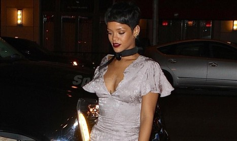 Rihanna rocks her mullet hairdo at New York Fashion Week - Sexy Balla   Daily News About Sexy Balla   Scoop.it