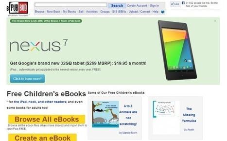 ePub Bud: crea, comparte y vende e-books gratis | Desarrollo de Apps, Softwares & Gadgets: | Scoop.it