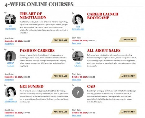 New Online Fashion Bootcamp | Best of the Los Angeles Fashion | Scoop.it