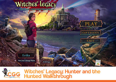 Witches' Legacy: Hunter and the Hunted Walkthrough: From CasualGameGuides.com | Casual Game Walkthroughs | Scoop.it