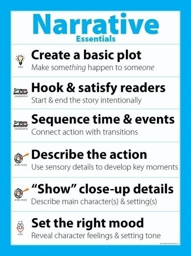 Narrative Essentials | Gimli Goose | How to find and tell your story | Scoop.it