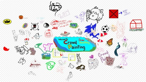 CrowdPainting.com - an online art collaboration project | Collaboration in Online Courses | Scoop.it