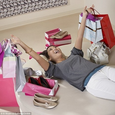 Are YOU addicted to shopping? Take this quick test to find out... | Kickin' Kickers | Scoop.it