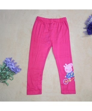 Spring Summer Candy Full Length Pepper Pig Pants | Clothing at SMA-STAR | Scoop.it