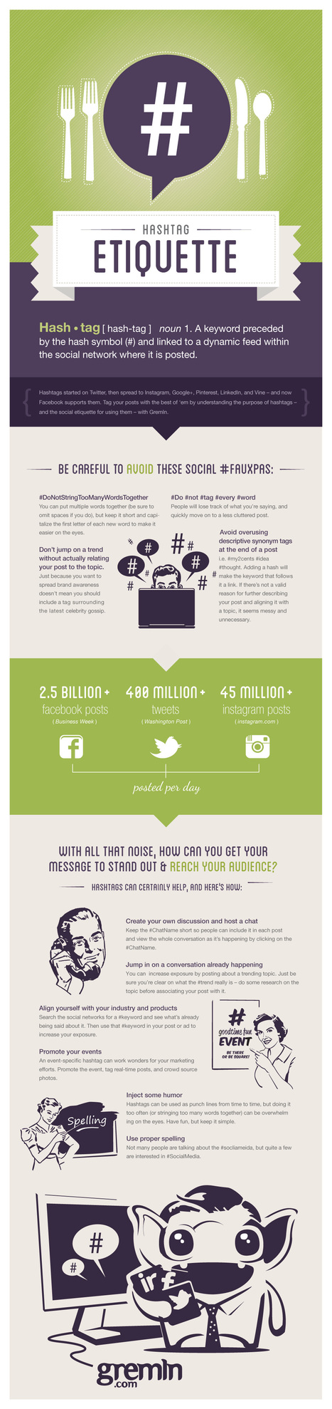 Hashtag Etiquette: The Dos and Don'ts of Social Media Engagement [INFOGRAPHIC] | ELA Technology Tools | Scoop.it