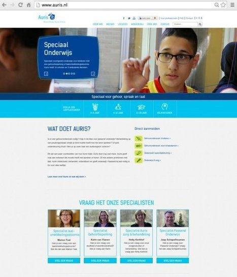 Nieuwe website Auris | LinkedIn | amd1510 | Scoop.it