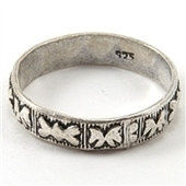 Sterling silver band rings for women | Fashion Jewelry America | Scoop.it