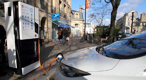 Bornes de recharge - En voiture - Déplacement et stationnement - Pratique - Bordeaux | Bornes de charges électriques EVTRONIC | Scoop.it