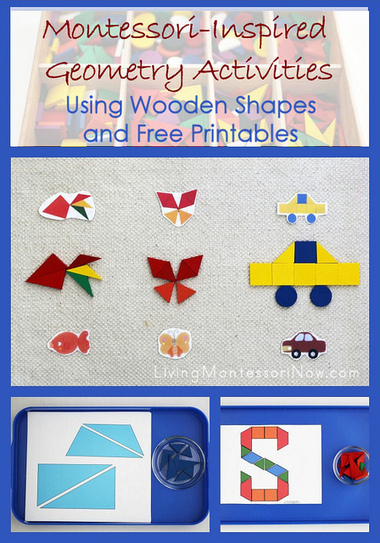 Montessori-Inspired Geometry Activities Using Wooden Shapes and Free Printables | Montessori Inspired | Scoop.it