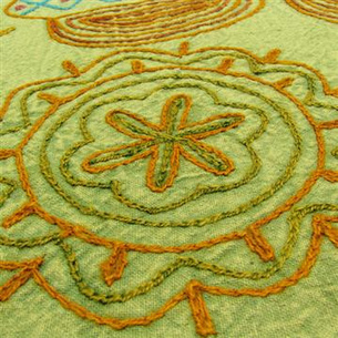 Decorative Embroidered Bedspread Tapestry | eyesofindia | Scoop.it