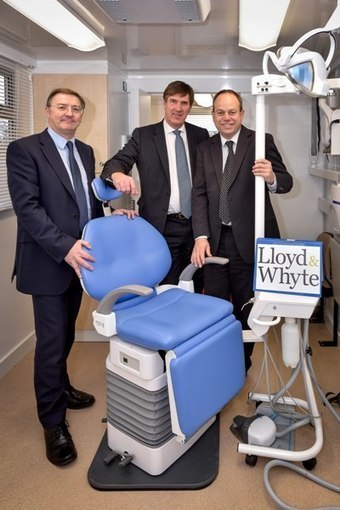 Healthcare insurance broker buys new mobile dental surgery with Lloyds Bank support | Dental Business | Scoop.it
