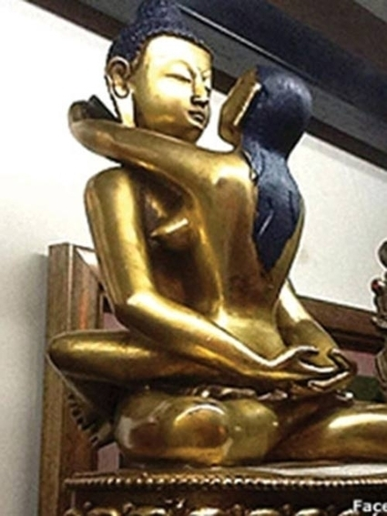 "Traceability of ""lust"" Buddha statue - VietNamNet Bridge 