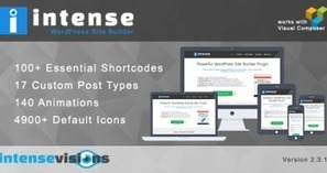 Intense – Shortcodes and Site Builder for WordPress V2.3.1 | Wordpress Themes | Scoop.it