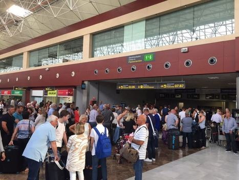 Hundreds of Aberdeen passengers left stranded after Tenerife flights grounded - Evening Express | Canary Islands | Scoop.it