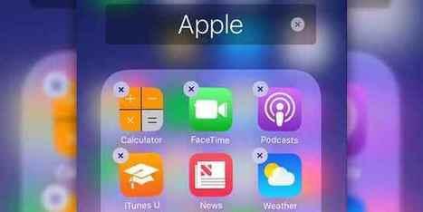 iPhone 7 iOS 10 come cancellare applicazioni preinstallate   AllMobileWorld Tutte le novità dal mondo dei cellulari e smartphone   Scoop.it