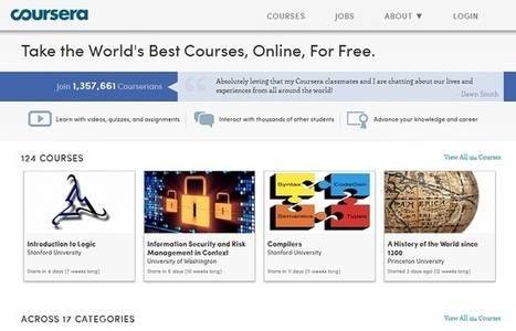 50 Top Sources Of Free eLearning Courses | Haskayne Teaching & Learning | Scoop.it
