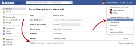 Comment transformer un profil Facebook en une page ! | Time to Learn | Scoop.it