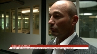 Comment prendre le pouls du tourisme: interview de Nicolas Délétroz   Revue de presse   Scoop.it