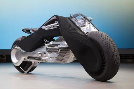 BMW's new motorcycle concept is so smart you won't need a helmet | Sports Cars in Motorsport | Scoop.it