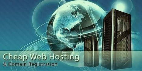 Affordable web hosting companies in india: What to do after getting a cheapest domain name registration? | Web hosting packages | Scoop.it