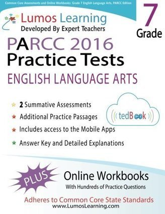 Common Core Assessments and Online Workbooks: Grade 7 Language Arts and Literacy, PARCC Edition: Common Core State Standards Aligned | BooksOnTheMove | Common Core:  Citing Textual Evidence | Scoop.it