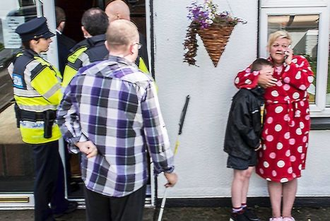 Disabled couple evicted from home in their pyjamas by bailiffs | The Sun |Irish News | Welfare, Disability, Politics and People's Right's | Scoop.it
