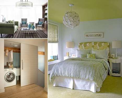 10 Ways to Make a Small Space Look Bigger | Amazing interior design | Scoop.it