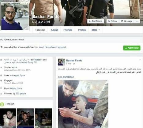 Syrie: Un reporter de l'ASL (Armée Syrienne Libre)... Bashar Fando | World News | Scoop.it