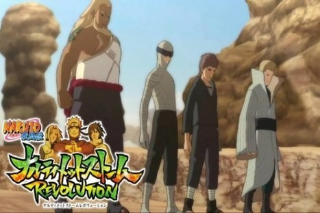 The Kages of Old Join Naruto Shippuden: Ultimate Ninja Storm ... | Naruto Characters | Scoop.it