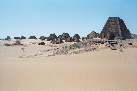 Bits and Pieces - Pyramids near Bagrawiyah, northern Sudan. This was... | Ancient Trade in Mesopotamia | Scoop.it