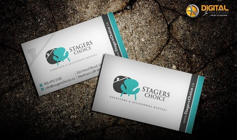 Business Cards – An Unforgettable Impression on Your Prospects! | Print Media And Web Media | Scoop.it