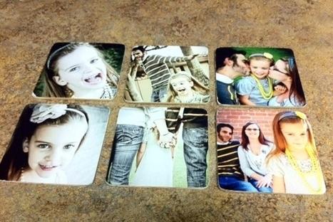 Porta-copos personalizados com fotos - O Artesanato | Baby Cool Stuff (from others) | Scoop.it