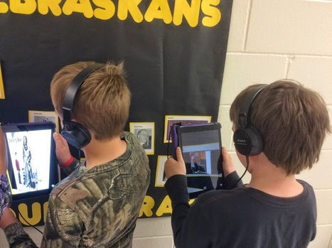 Tech Tools For Teaching: Augmented Reality - Famous Nebraskans Come to Life | iPads in the Classroom | Scoop.it