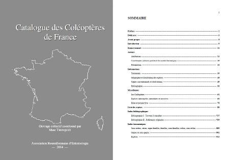 Parution du Catalogue des Coléoptères de France | Nouvelles arthropodes | Scoop.it