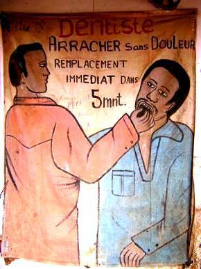 Publicités peintes à la main en Guinée-Bissau · Global Voices en Français | Merveilles - Marvels | Scoop.it