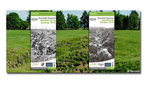 L'IGN édite les cartes des batailles de Verdun et de la Somme - IGN | Centenaire Première Guerre mondiale - Académie de Rennes | Scoop.it
